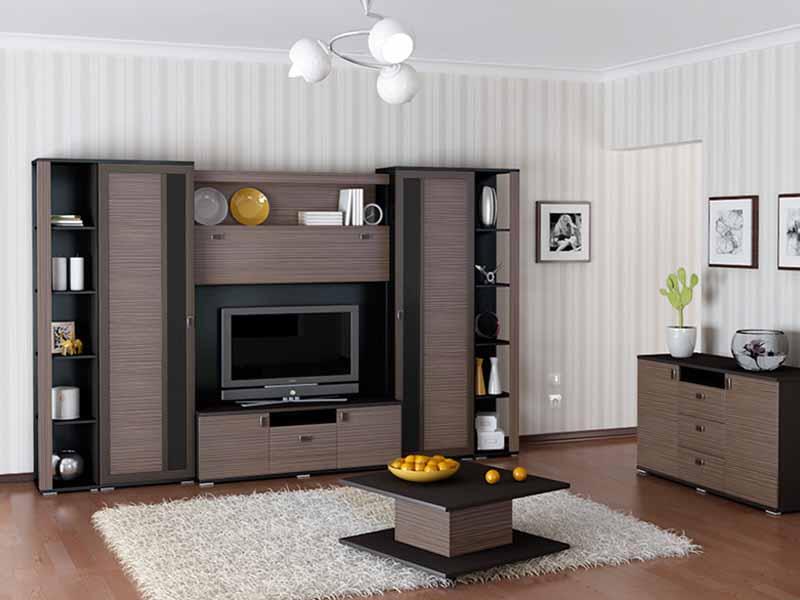 Комбинированная Мебель Для Гостиной В Москве