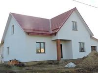 Фасад одноэтажного дома с отделкой