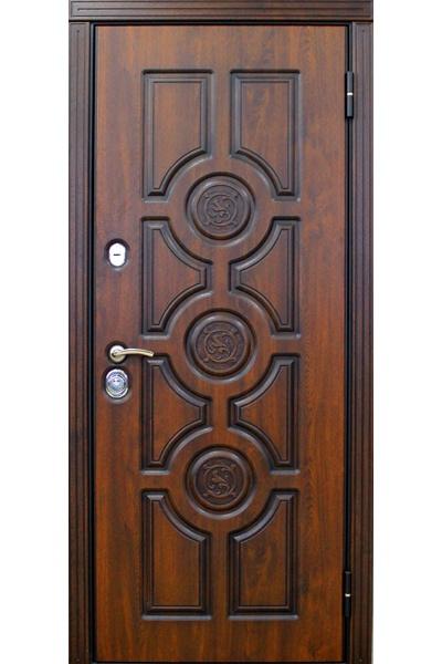 двери металлические мдф с установкой